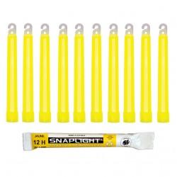 Barras de luz amarillo...