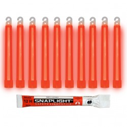 Barras de luz rojo...