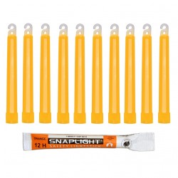 Barras de luz naranja...