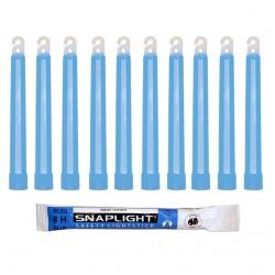 Barras de luz azul...