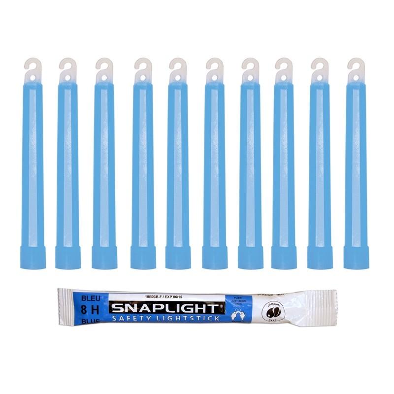 barras de luz 15cm azul snaplight 6 inch con duraci n de 8 horas. Black Bedroom Furniture Sets. Home Design Ideas