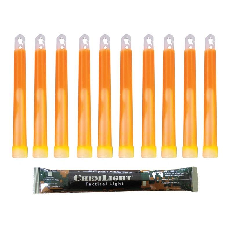 12 Heures Orange Cyalume B/âton Lumineux ChemLight/® 15 cm