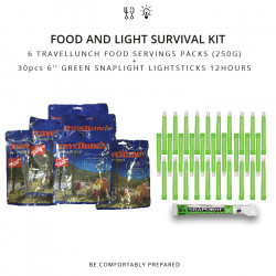 72hours Survival kit: 30pcs...