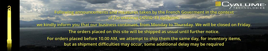 Cyalume Covid-19 Information